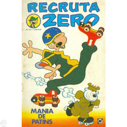 Recruta Zero [RGE] nº 214 jun/1980