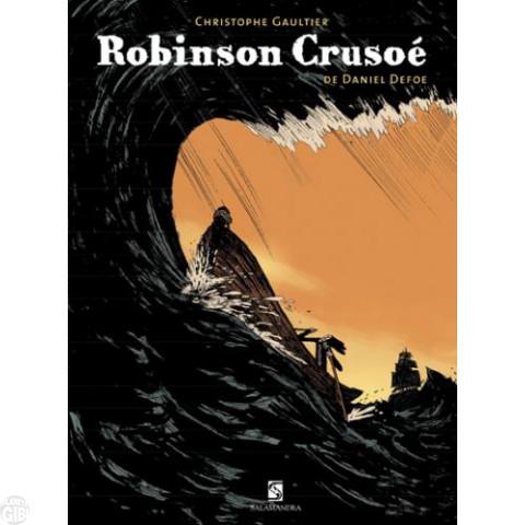 Robinson Crusoé [Salamandra] out/2009 - Em Quadrinhos