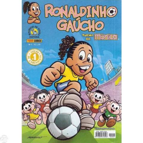 Ronaldinho Gaúcho [2ª série - Panini] nº 001 jan/2007