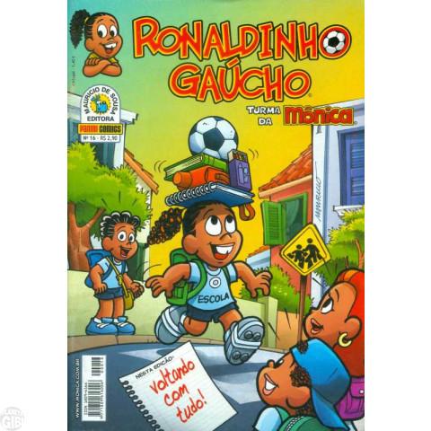 Ronaldinho Gaúcho [2ª série - Panini] nº 016 abr/2008