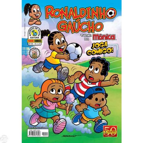 Ronaldinho Gaúcho [2ª série - Panini] nº 055 jul/2011