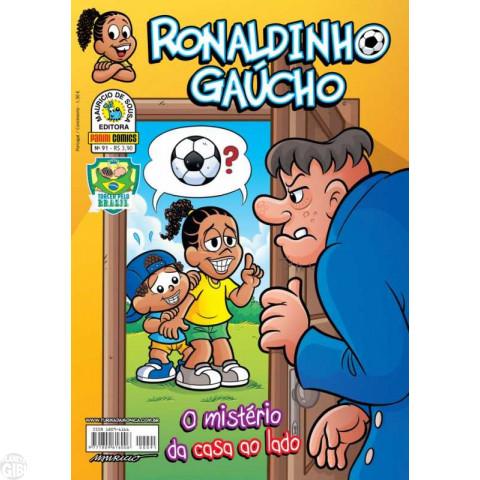Ronaldinho Gaúcho [2ª série - Panini] nº 091 jul/2014
