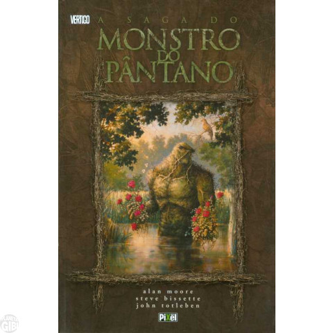 Saga do Monstro do Pântano [Pixel] jun/2007 - Capa Dura
