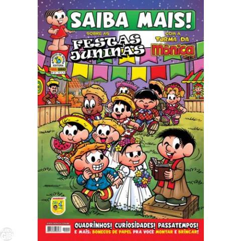 Saiba Mais! Turma da Mônica [Panini - 1s] nº 021 mai/2009 - Festas Juninas