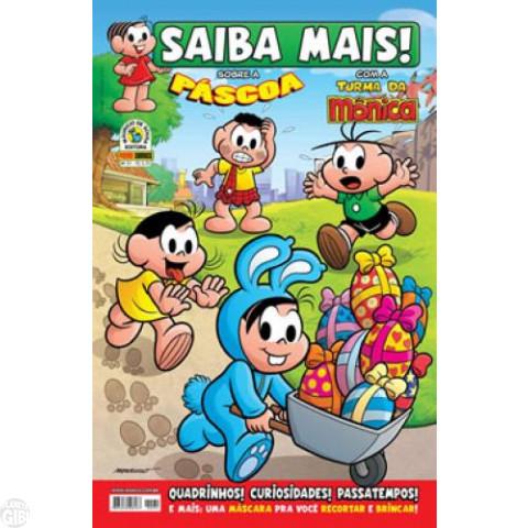 Saiba Mais! Turma da Mônica [Panini - 1s] nº 031 mar/2010 - Páscoa