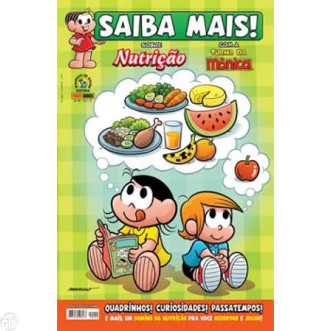 Saiba Mais! Turma da Mônica [Panini - 1s] nº 040 dez/2010 - Nutrição