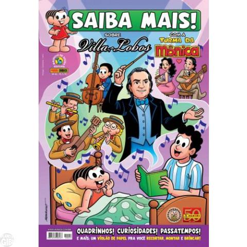 Saiba Mais! Turma da Mônica [Panini - 1s] nº 042 fev/2011 - Villa-Lobos