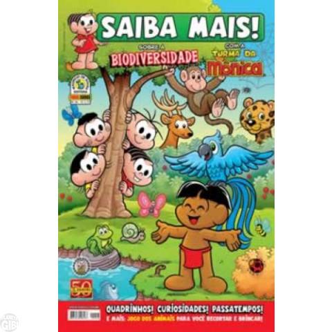 Saiba Mais! Turma da Mônica [Panini - 1s] nº 046 jun/2011 - Biodiversidade