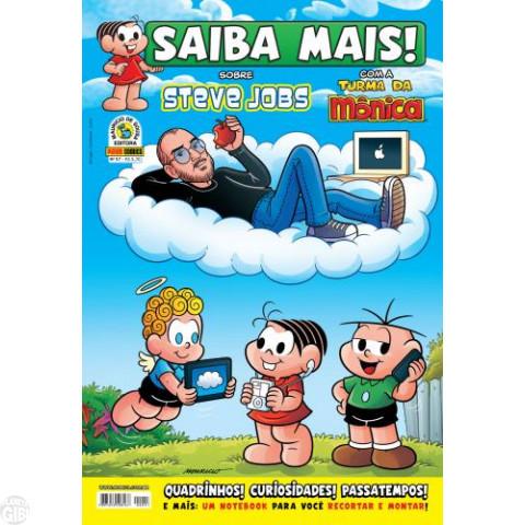 Saiba Mais! Com a Turma da Mônica [Panini - 1ª série] nº 057 mai/2012 - Steve Jobs