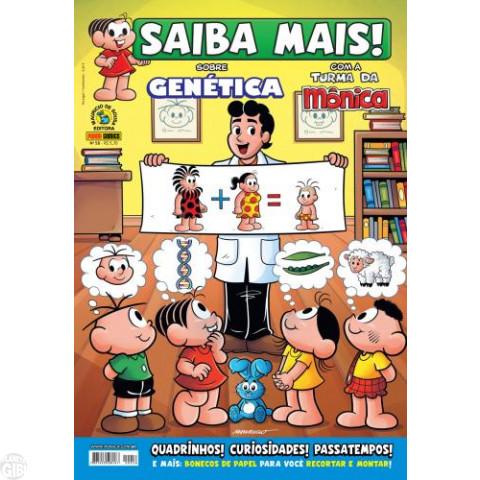 Saiba Mais! Com a Turma da Mônica [Panini - 1ª série] nº 058 jun/2012 - Genética