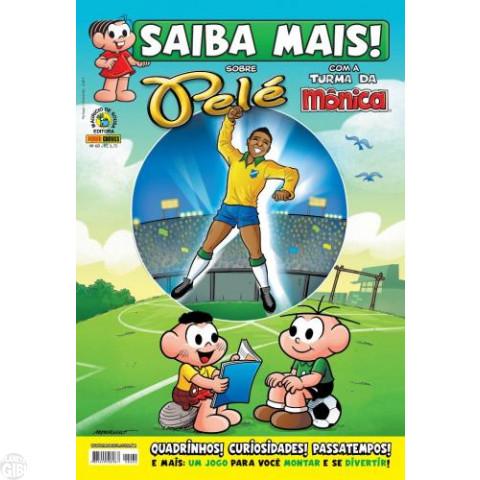 Saiba Mais! Com a Turma da Mônica [Panini - 1ª série] nº 060 ago/2012 - Pelé