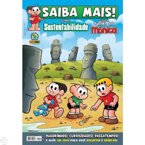 Saiba Mais! Turma da Mônica [Panini - 1s] nº 061 set/2012 - Sustentabilidade