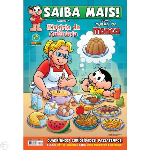 Saiba Mais! Com a Turma da Mônica [Panini - 1ª série] nº 080 abr/2014 - História da Culinária