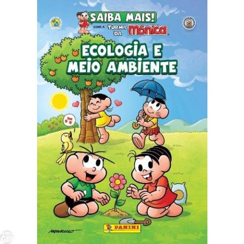 Saiba Mais! Com a Turma da Mônica [Panini - Capa Cartão] nº 002 nov/2011 - Ecologia e Meio Ambiente