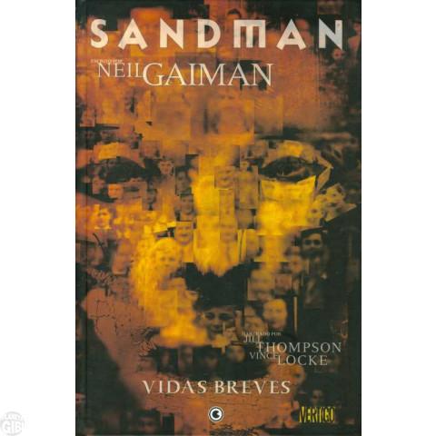 Sandman [Conrad] nº 007 fev/2007 - Vidas Breves - Capa Dura