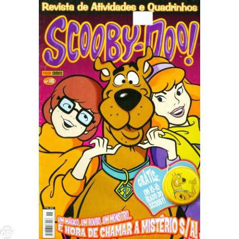 Scooby-Doo Revista de Atividades e Quadrinhos [Panini] nº 018 fev/2006 - Vide Detalhes