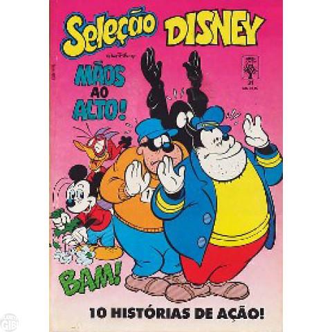 Seleção Disney nº 031 set/1990 - Mão ao Alto - vide detalhes
