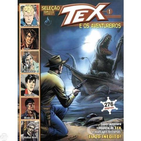 Seleção Tex e os Aventureiros nº 001