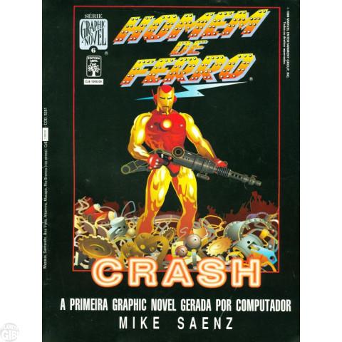 Série Graphic Novel [Abril] nº 006 dez/1988 - Homem de Ferro: Crash