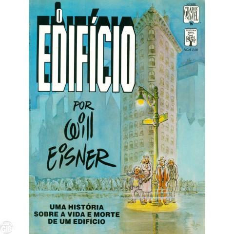Série Graphic Novel [Abril] nº 008 fev/1989 - O Edifício - Por Will Eisner