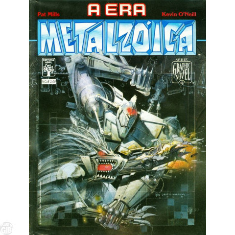 Série Graphic Novel [Abril] nº 009 mar/1989 - A Era Metalzóica