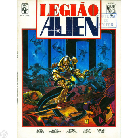 Série Graphic Novel [Abril] nº 015 set/1989 - Legião Alien