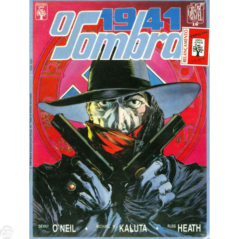 Série Graphic Novel [Abril] nº 016 out/1989 - O Sombra: 1941