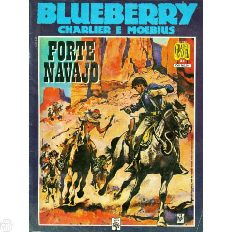Série Graphic Novel [Abril] nº 021 set/1990 - Blueberry: Forte Navajo