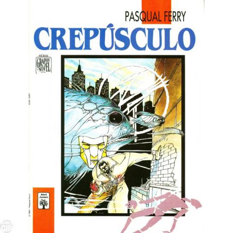 Série Graphic Novel [Abril] nº 025 jan/1991 - Crepúsculo - Leia os detalhes abaixo