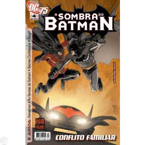 Sombra do Batman [Panini - 1ª série] nº 004 out/2010