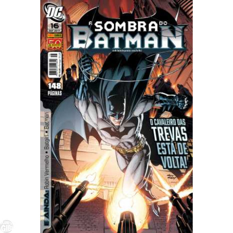 Sombra do Batman [Panini - 1ª série] nº 016 out/2011