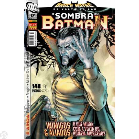 Sombra do Batman [Panini - 1ª série] nº 017 nov/2011