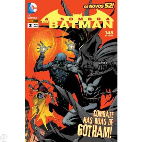 Sombra do Batman [Panini - 2ª série] nº 003 ago/2012