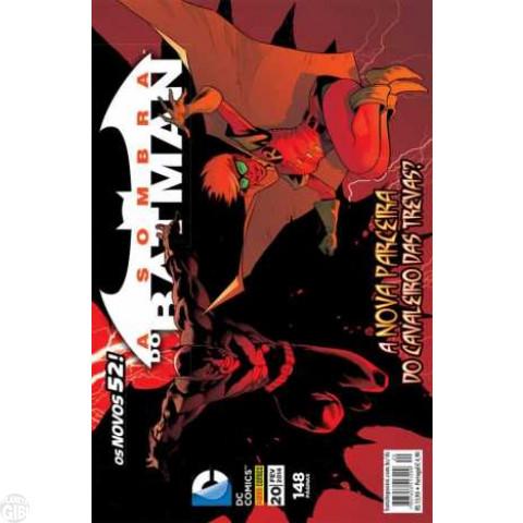 Sombra do Batman [Panini - 2ª série] nº 020 fev/2014