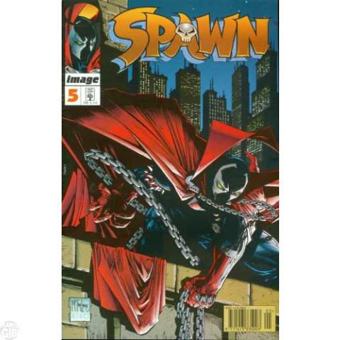 Spawn [Abril]  nº 005 jul/1996