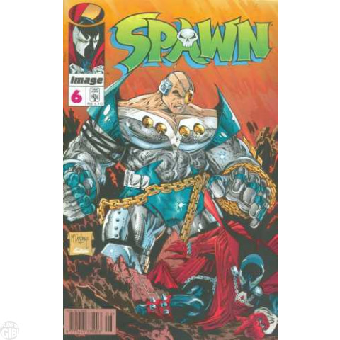 Spawn [Abril]  nº 006 ago/1996