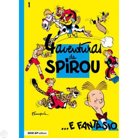 Spirou e Fantasio [Sesi-SP] nº 001 mar/2016 - 4 Aventuras de Spirou ...e Fantasio