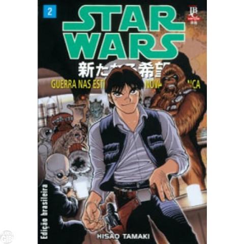 Star Wars Mangá - Uma Nova Esperança - JBC - nº 002 jun/2002