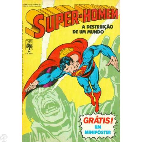 Super-Homem [Abril - 1ª série] nº 014 ago/1985 - Com pôster