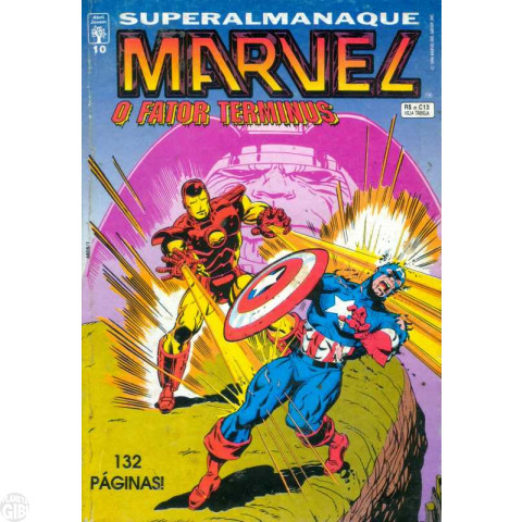 Superalmanaque Marvel [Abril] nº 010 jul/1994 - O Fator Terminus