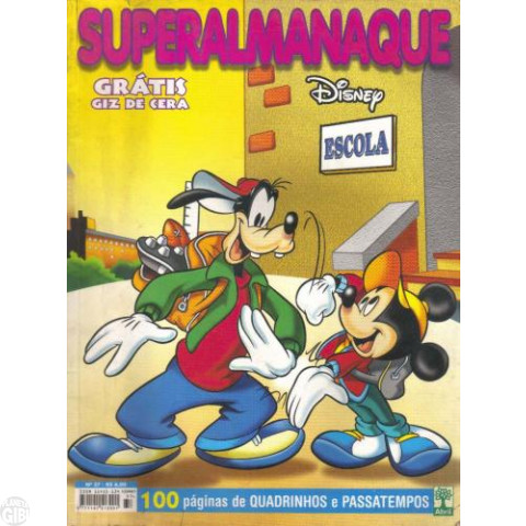 Superalmanaque nº 037 fev/2001 - Disney: Escola