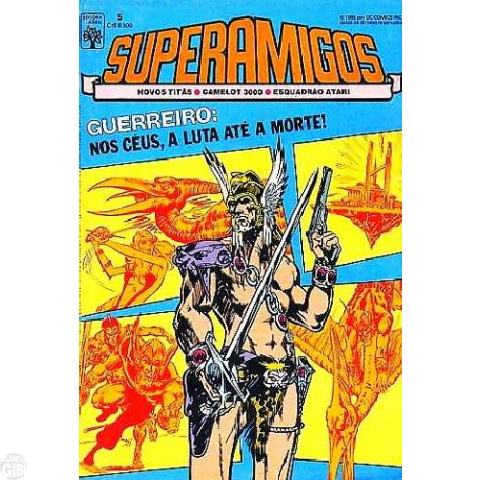 Superamigos [Abril] nº 005 set/1985
