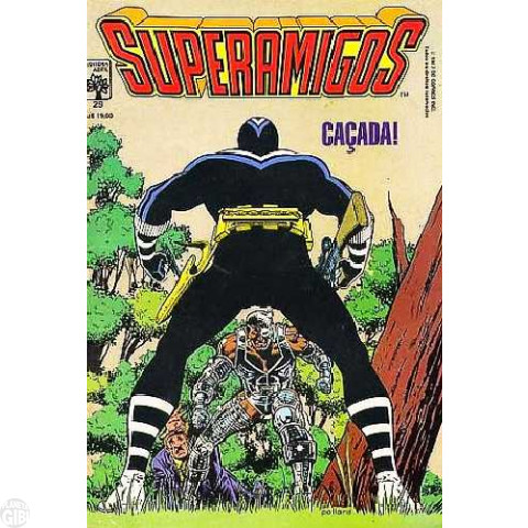 Superamigos [Abril] nº 029 set/1987