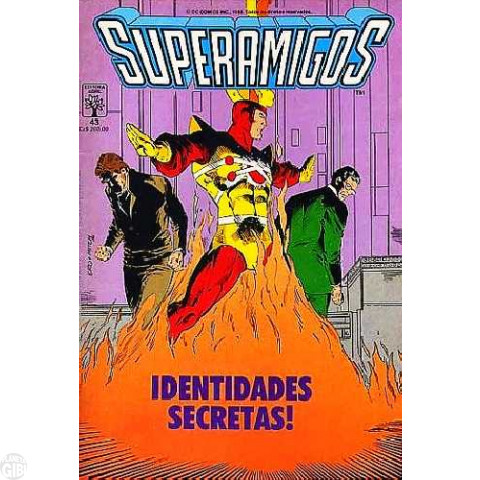 Superamigos [Abril] nº 043 nov/1988