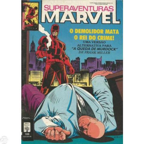 Superaventuras Marvel [Abril] nº 106 abr/1991 - Demolidor Mata o Rei do Crime