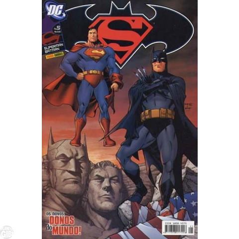 Superman & Batman [Panini - 1ª série] nº 005 nov/2005