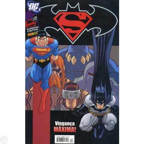 Superman & Batman [Panini - 1ª série] nº 012 jun/2006