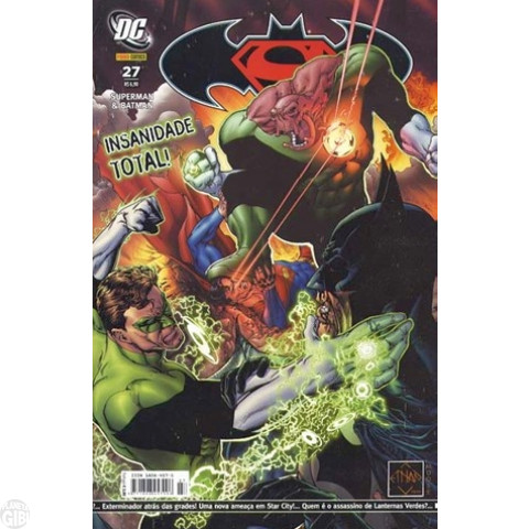 Superman & Batman [Panini - 1ª série] nº 027 set/2007