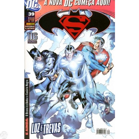 Superman & Batman [Panini - 1ª série] nº 039 set/2008