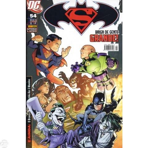 Superman & Batman [Panini - 1ª série] nº 054 dez/2009 - com brinde original